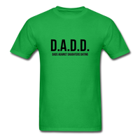 D.A.D.D. Dads Against Daughters Dating Shirt - bright green