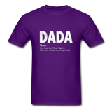 DaDa Definition Father Shirt - purple
