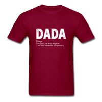 DaDa Definition Father Shirt - burgundy