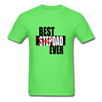 Best Step Dad Ever Shirt - kiwi