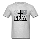 Rise Up & Pray, Luke 22:46 Unisex Shirt - heather gray
