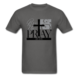 Rise Up & Pray, Luke 22:46 Unisex Shirt - charcoal