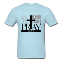 Rise Up & Pray, Luke 22:46 Unisex Shirt - powder blue