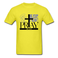Rise Up & Pray, Luke 22:46 Unisex Shirt - yellow