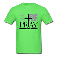 Rise Up & Pray, Luke 22:46 Unisex Shirt - kiwi