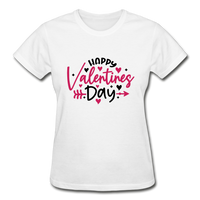 Happy Valentines Day Shirt - white