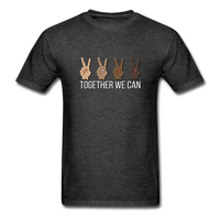 Together We Can Unisex Classic T-Shirt, All Lives Matter - heather black