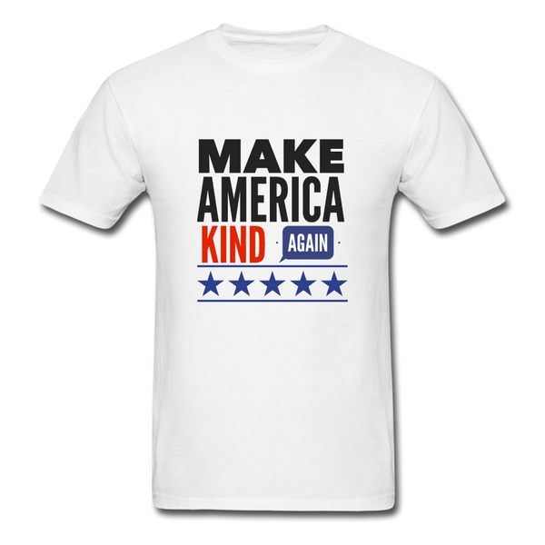 Make America Kind Again Shirt - white