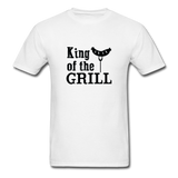 King of the Grill Dad Shirt - white