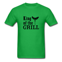 King of the Grill Dad Shirt - bright green