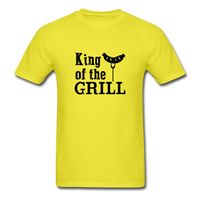 King of the Grill Dad Shirt - yellow