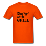 King of the Grill Dad Shirt - orange
