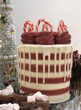 Holiday Candy Cane Cake