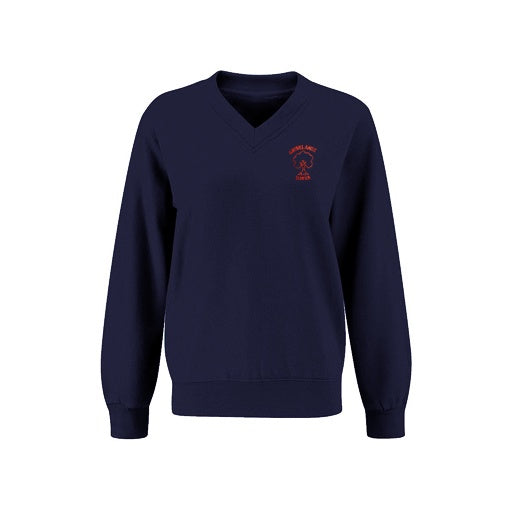 Grovelands V-Neck Jumper
