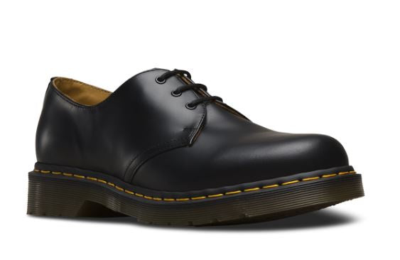 Dr. Martens Yellow Stitched Shoes