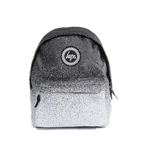 Hype Backpack - Speckle Fade Black/White