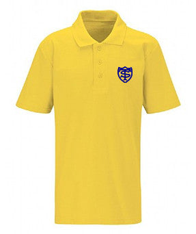 T&S Nursery Polo - Gold