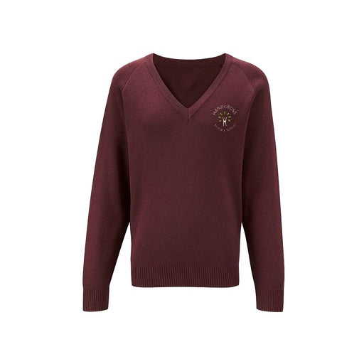 Handcross Junior V-Neck Jumper