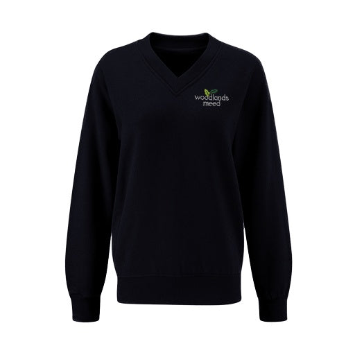 Woodlands Meed Year 7 to Year 11 V-Neck Jumper