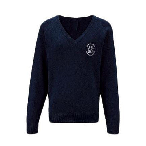 Downlands Navy Jumper