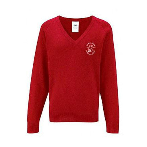 Downlands Red Jumper