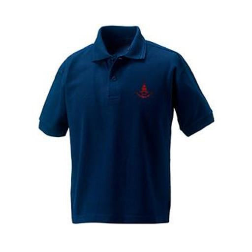 Downs Junior Polo- Navy