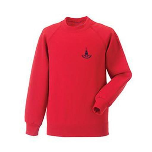 Downs Junior Jumper- Red