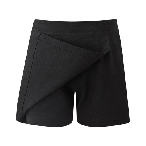 Girls Junior Day Skort - Black