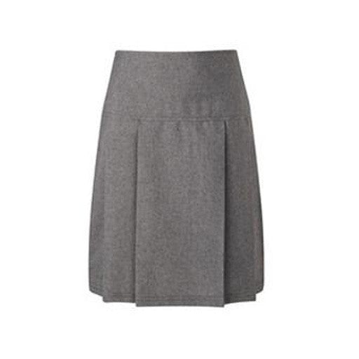 Junior Girls-Fit Skirt - Grey