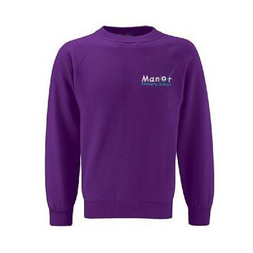 Manor Uckfield Y6 Purple Jumper