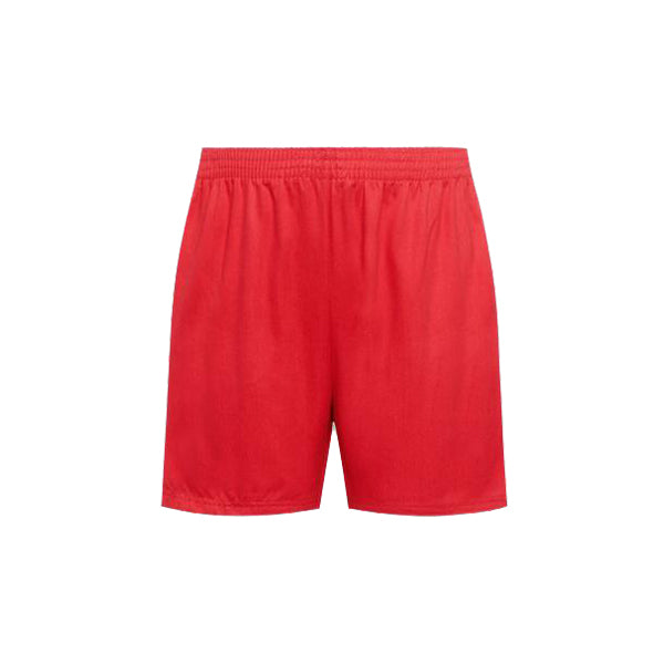 Cotton PE Shorts - Red