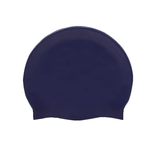 Silicon Swim Hat - Navy
