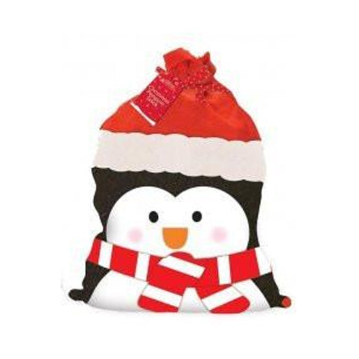 Personalised Santa Sack - Penguin