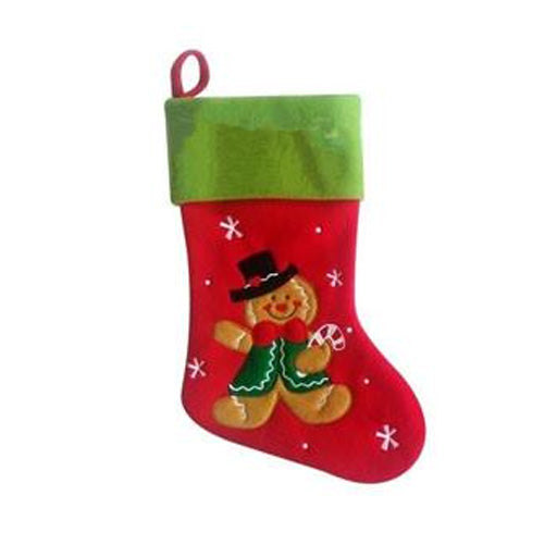 Personalised Stocking - Gingerbread Man