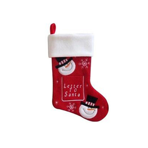 Personalised Stocking - Letter to Santa