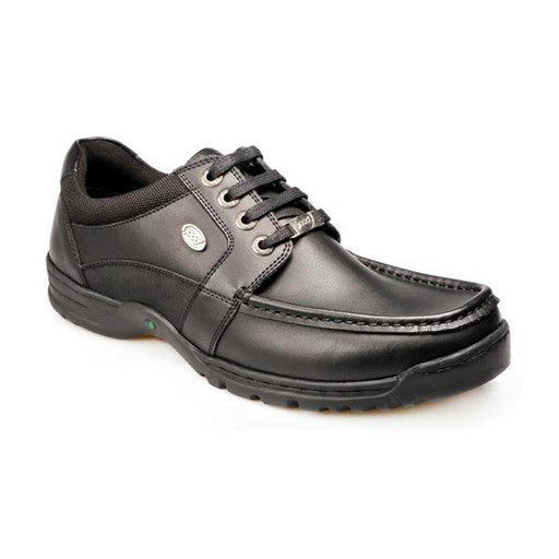 Senior Boys School Shoes - Wider Fit (Panter)