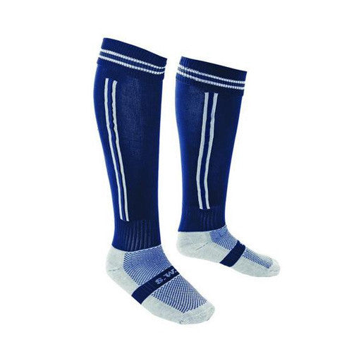 Coolmax Games Socks - Navy/White