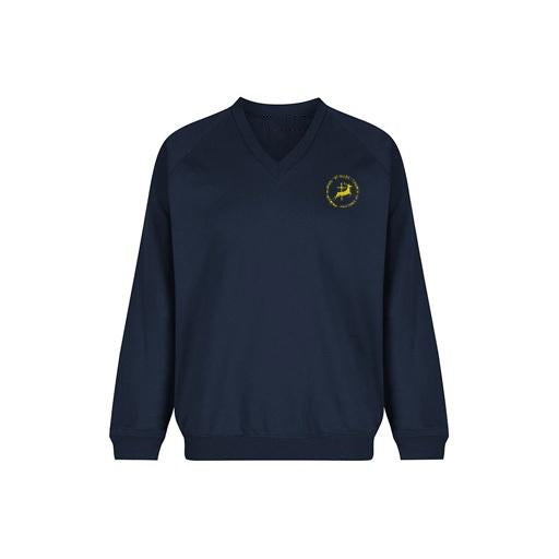 St. Giles V-Neck Jumper - Year 6