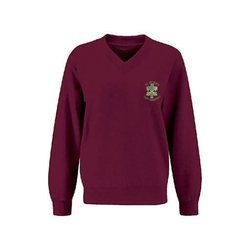 St. Peter's EG Jumper V-Neck