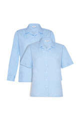 Revere Blouses - Blue (Twin Pack)