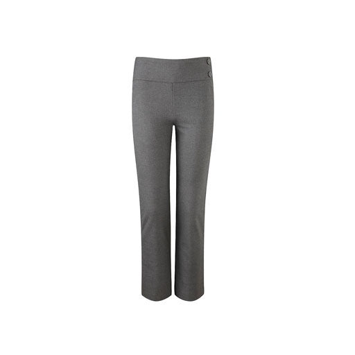 Junior Girls-Fit Trousers - Grey