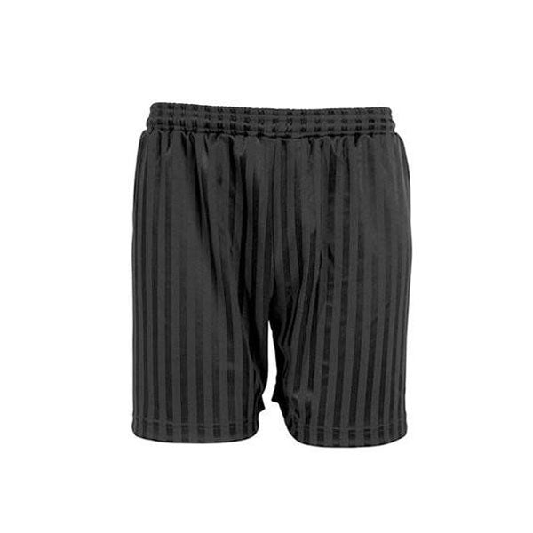 Shadow Stripe Shorts - Black