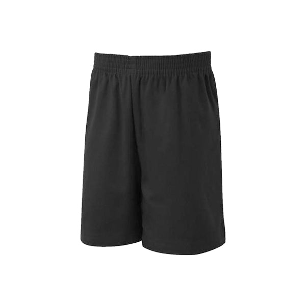 Cotton PE Shorts - Black