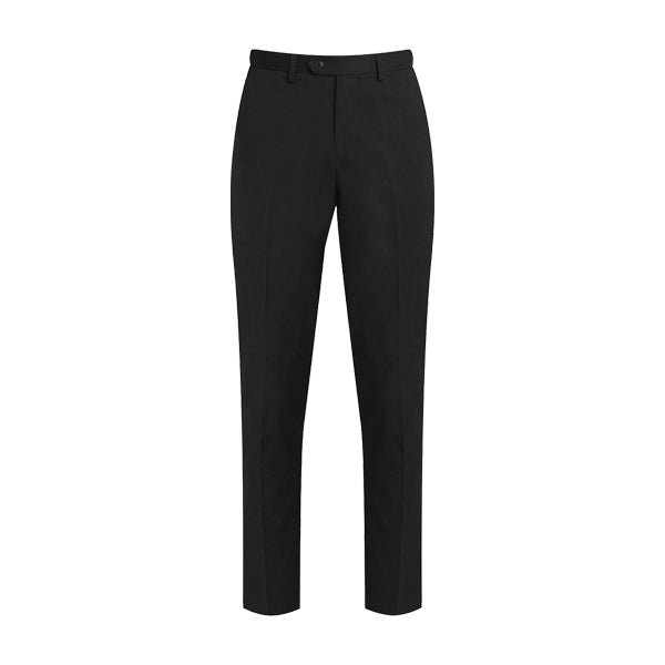 Slim-Fit Senior Boys Trousers - Black