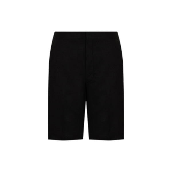 Boys-Fit School Shorts - Black