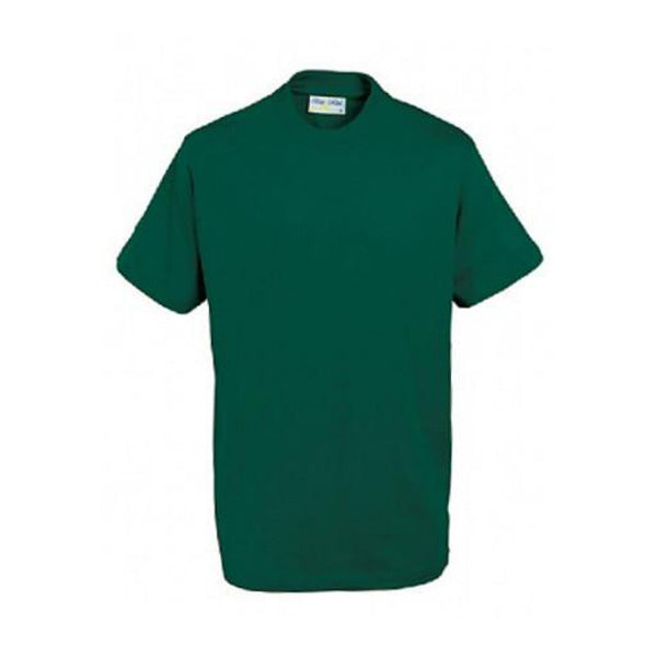 Cotton T-Shirt - Bottle Green