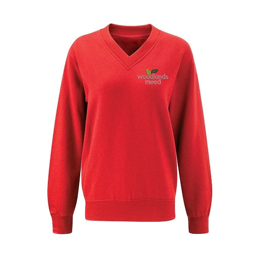 Woodlands Meed Nursery to Year 9  V-Neck Jumper