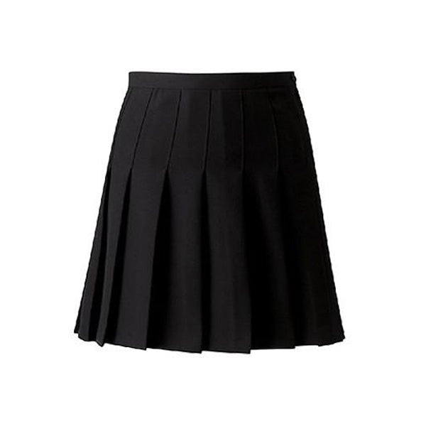 Senior Designer Pleated Skirt Black