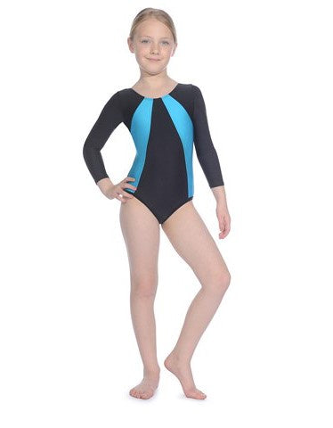 Roch Valley 2stripe Gymnastic Leotard