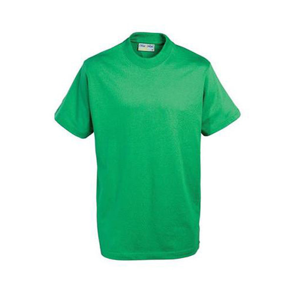 Cotton T-Shirt - Emerald Green